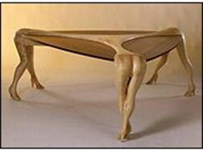 Bu mobilyalar pek erotik!